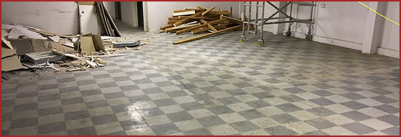 Asbestos Floor Tile Removal Portsmouth