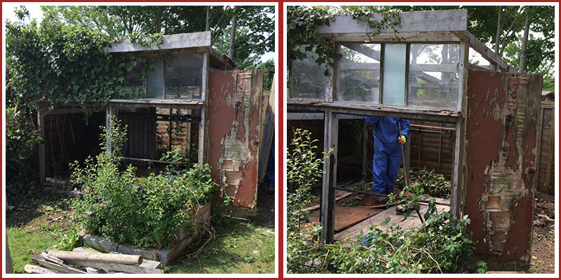 Asbestos Shed Removal Eastleigh