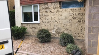 Asbestos Removal from House Walls in Gosport, Hampshire